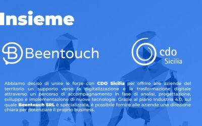 Innovazione e Ripresa: Beentouch Srl e CDO Sicilia uniscono le forze per gli associati siciliani.